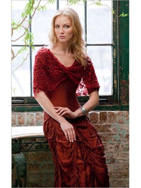 Variations Crocheted Moebius Wrap | InterweaveStore.com