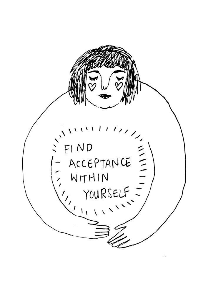 Find acceptance within yourself