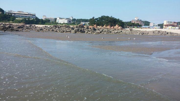 선녀바위해변