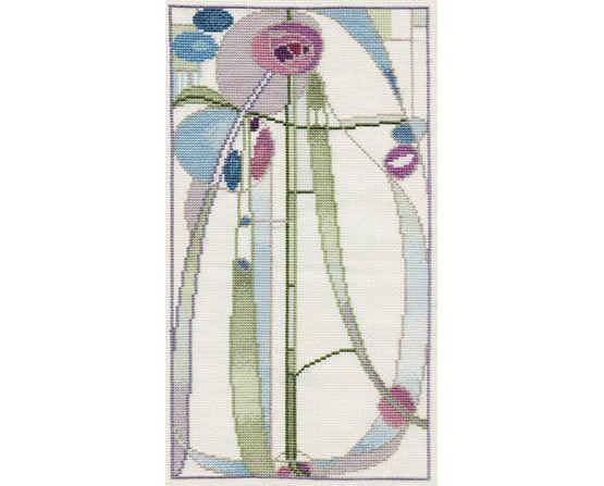 Rose Boudoir Cross Stitch Kit £25.75 | Past Impressions | Derwentwater Designs