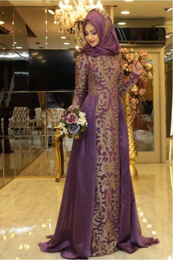 a84e2631161cc Tesettür Şık Tılsım Abiye Pınar Şems   Tesettür in 2019   Elbiseler,  Kıyafet, Giyim