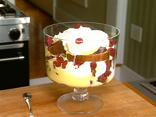 Trifle and no rachel there is not supposed to be meat in trifle