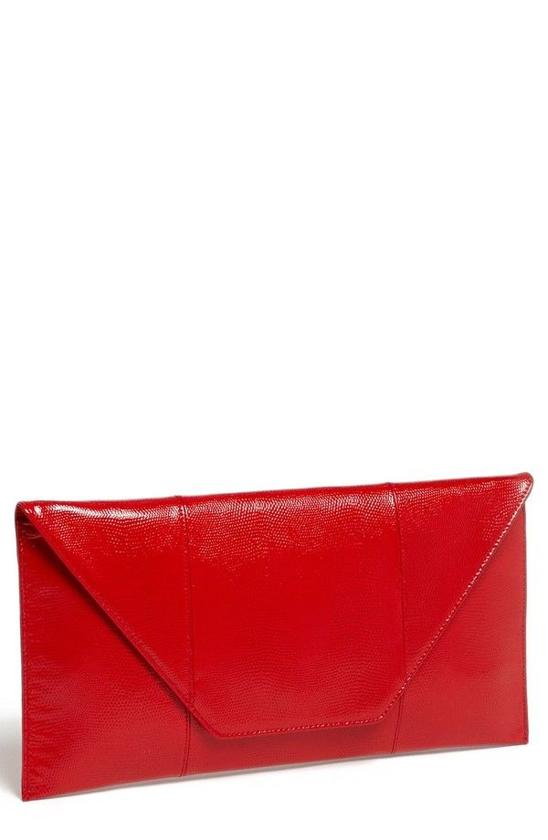 Red Clutch from Nordstrom