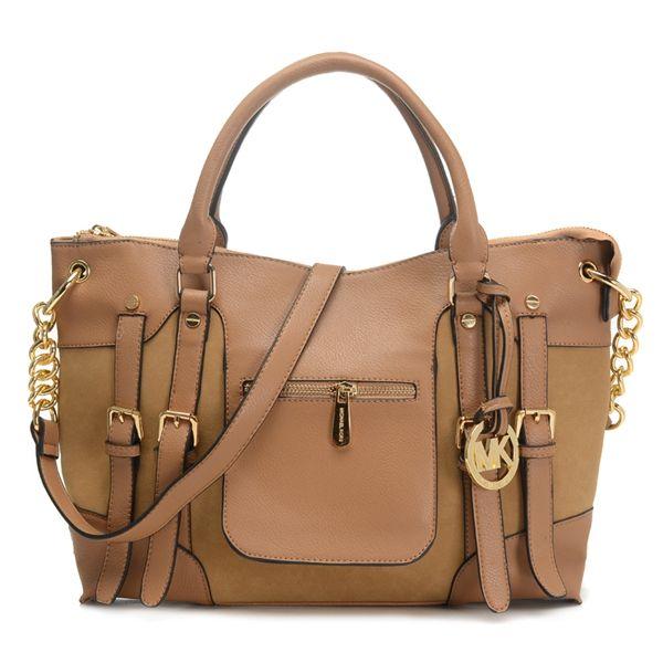9b274d66ccd0 ... order michael kors satchel mcgraw leather large slim tan black girl  braids in 2018 pinterest handbags