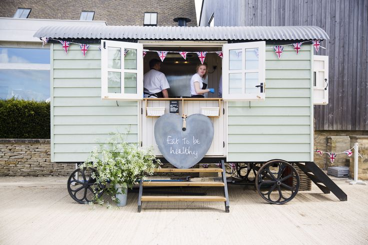 Eat to be healthy Shepherds Hut