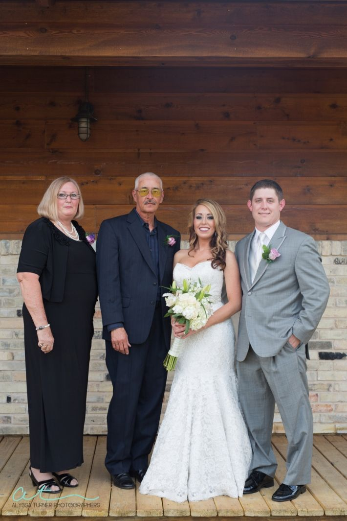 Zedler Mill Wedding Family Photo