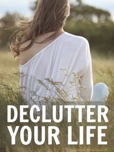Declutter your life using these seven simple steps and free yourself from the self-inflicted pressure of always being on the go! It's time to change...