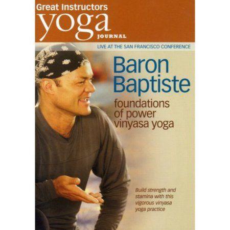 Yoga Journal: Baron Baptiste's Foundations Of Power Vinyasa Yoga (Full Frame)