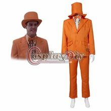 Dumb and Dumber Lloyd Christmas Suit Outfit Adult Men Halloween Carnival Cosplay Costume Custom Made D0420(China (Mainland))