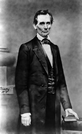 One of Mr. Lincoln's greatest speeches was given on February 27, 1860 at the Cooper Institute in New York. Lincoln, who had yet to announce his intentions to run for president drew a crowd of over 1,500 people.
