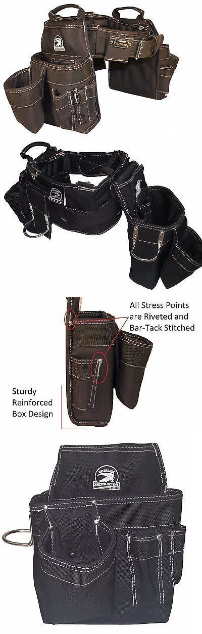 Bags Belts and Pouches 42362: Gatorback B140 Professional Carpenters Tool Belt Combo. Various Sizes (S - 3Xl) -> BUY IT NOW ONLY: $101.95 on eBay!