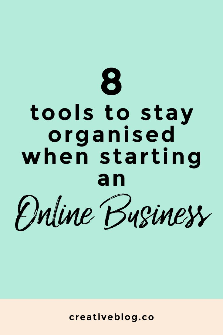 Online Business | Organization | Tools for Business | Content