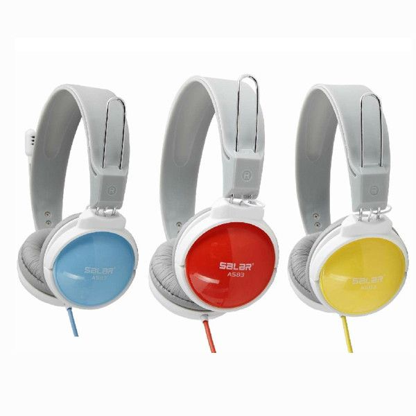 Salar A530 Candy Color Computer Headphone with Mic