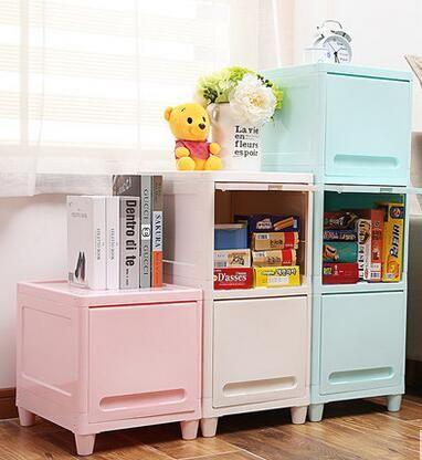 Wielowarstwowe szafy szuflady półki proste plastikowe zabawki dla dzieci Dla Dzieci gruzu gospodarstwa domowego szuflady szafa do przechowywania