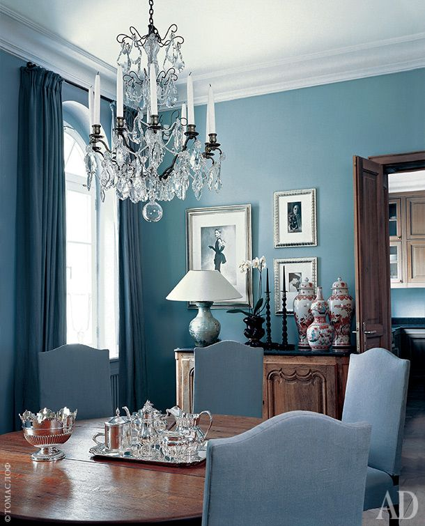 Exterior Doors Interior Ideas Dining Rooms Modern Classic Baby Blue Vignettes Chandeliers Apartments Furniture