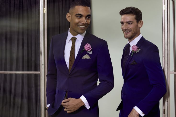 Make sure the groom and ushers are dressed to impress