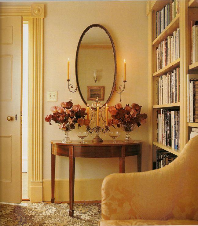 Library In Martha Stewart S Turkey Hill Home