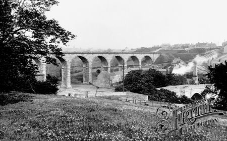 Newton Cap Viaduct, Bishop Auckland #history #blackandwhite #past