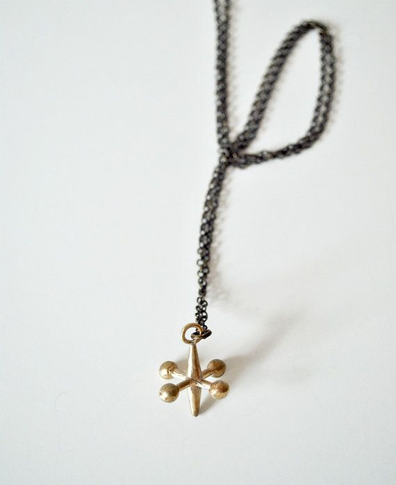 The Angry Weather - Jack Necklace in Bronze