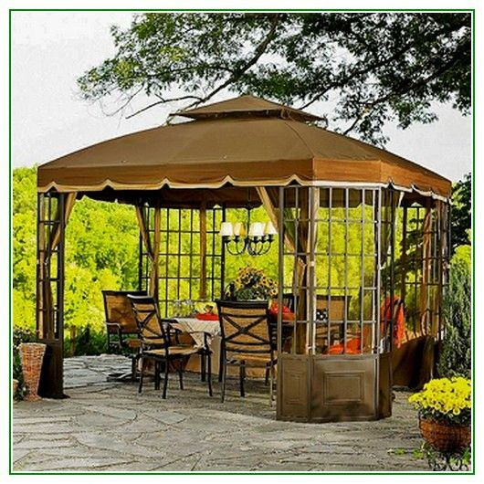 Backyard Canopy Gazebo - http://longviews.tv/backyard-canopy-gazebo/