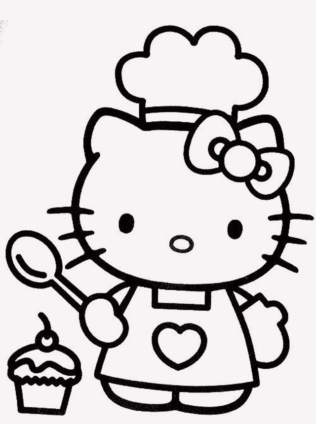 19 Hello Kitty Coloring Pages Ballerina Hello Kitty Colouring Pages Hello Kitty Drawing Hello Kitty Printables