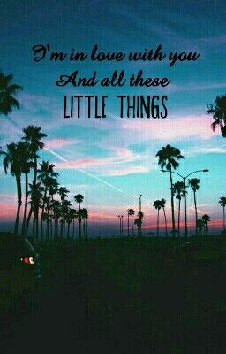 One Direction- Little Things ♡♡♡