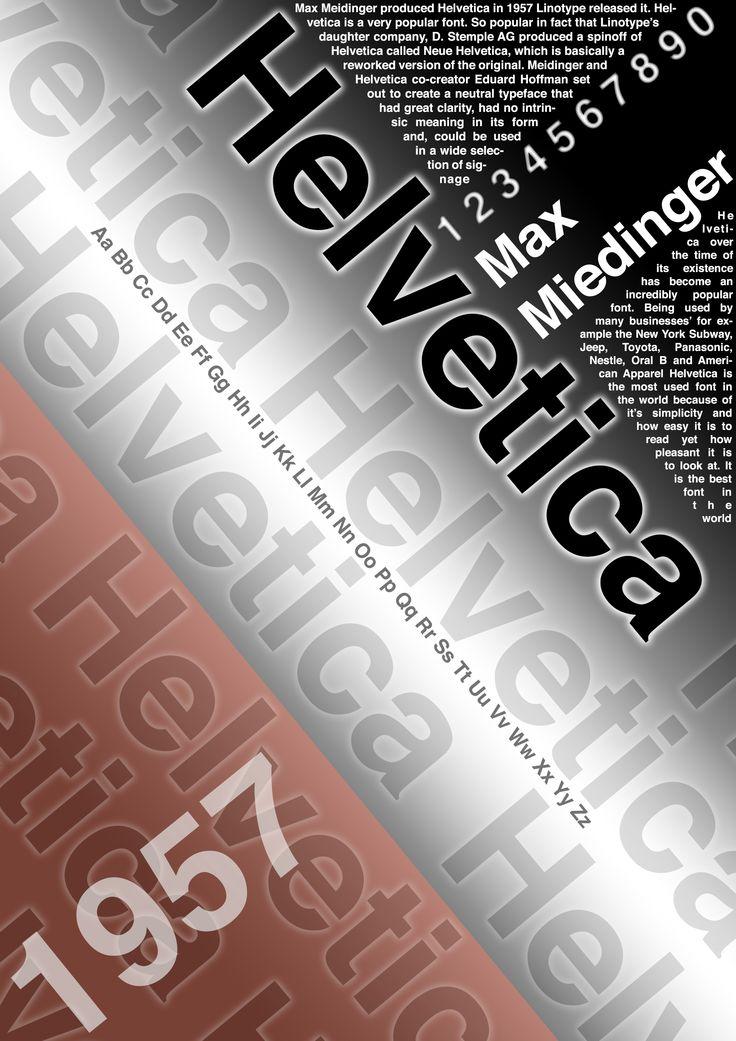 Helvetica Development 2