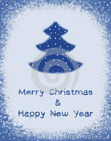 Новый Год поздравительной открытки с Рождеством Христовым и счастливый