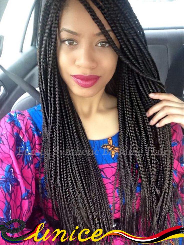 Best 25 latch hook braids ideas on pinterest black hair popular medium box braids bulk crochet latch hook braiding hair 18 synthetic dreadlocks 3x box pmusecretfo Images