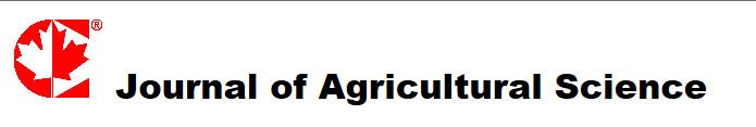 Journal of Agricultural Science (JAS) is an international, double-blind peer-reviewed, open-access journal, published by the Canadian Center of Science and Education. It publishes original research, applied, and educational articles monthly in all areas of agricultural science. www.ccsenet.org/journal/index.php/jas