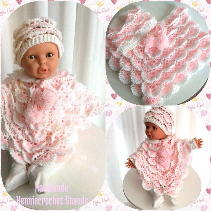 Een persoonlijke favoriet uit mijn Etsy shop https://www.etsy.com/nl/listing/550751304/baby-meisjes-poncho-met-baby-beanie