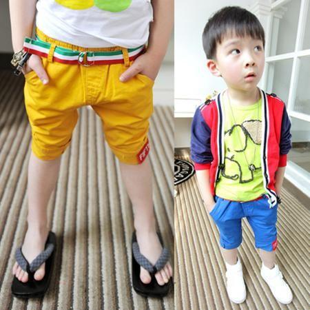 Брюки Брюки детские в летом 2015 года ребенок мигает цвет пояса брюки 24A0316  — 529.2р.