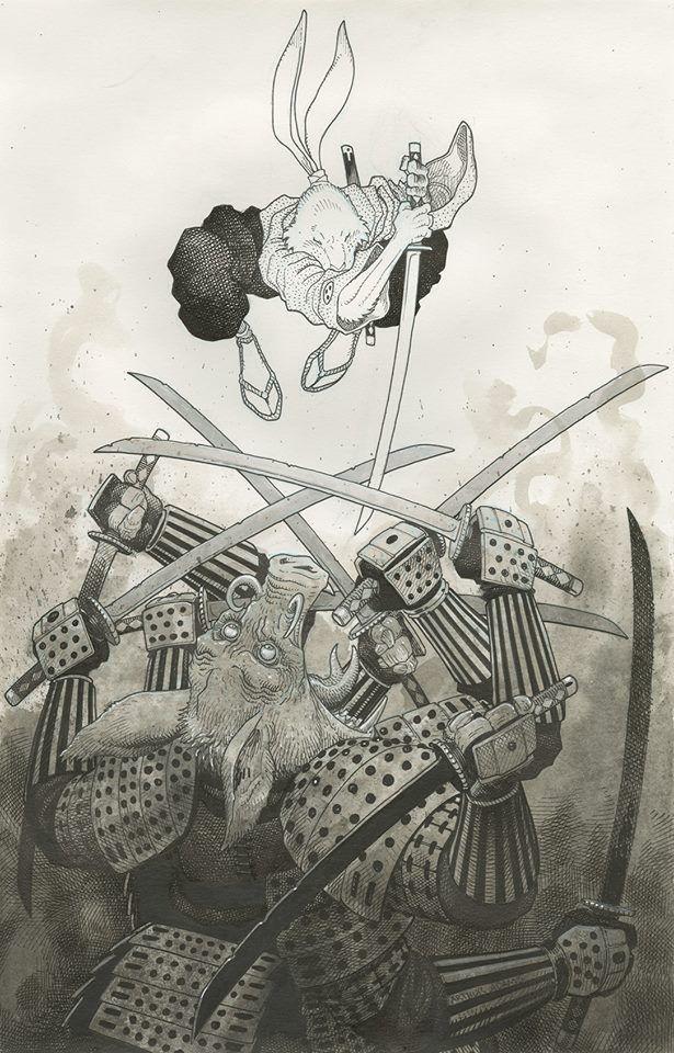 Usagi Yojimbo by Arthur Adams *