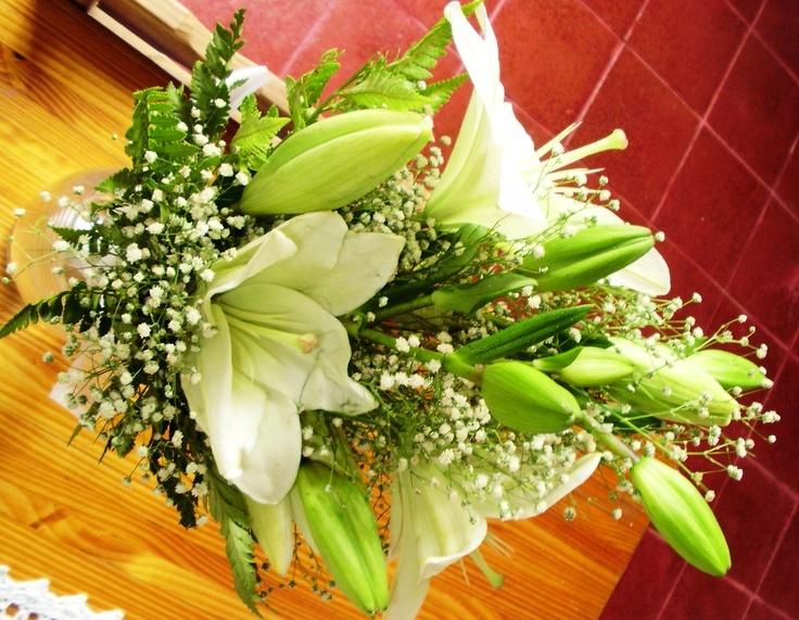 ramo de liliums