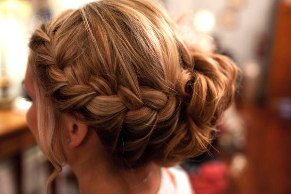 braided updo: French Braids, Hair Ideas, Hairstyles, Braids Updo, Makeup, Beautiful, Hair Style, Side Braids, Braids Buns