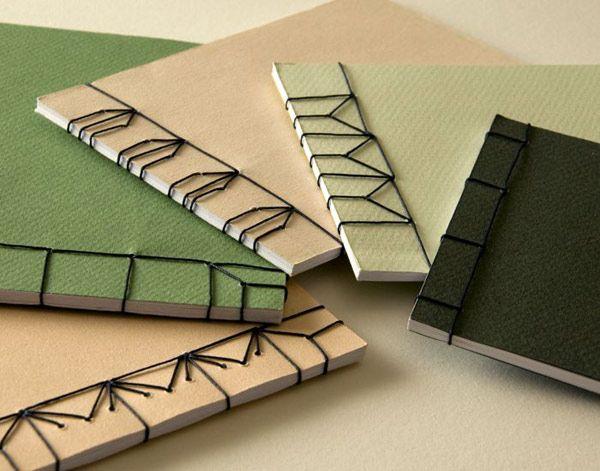 Encuadernacion japonesa: costuras