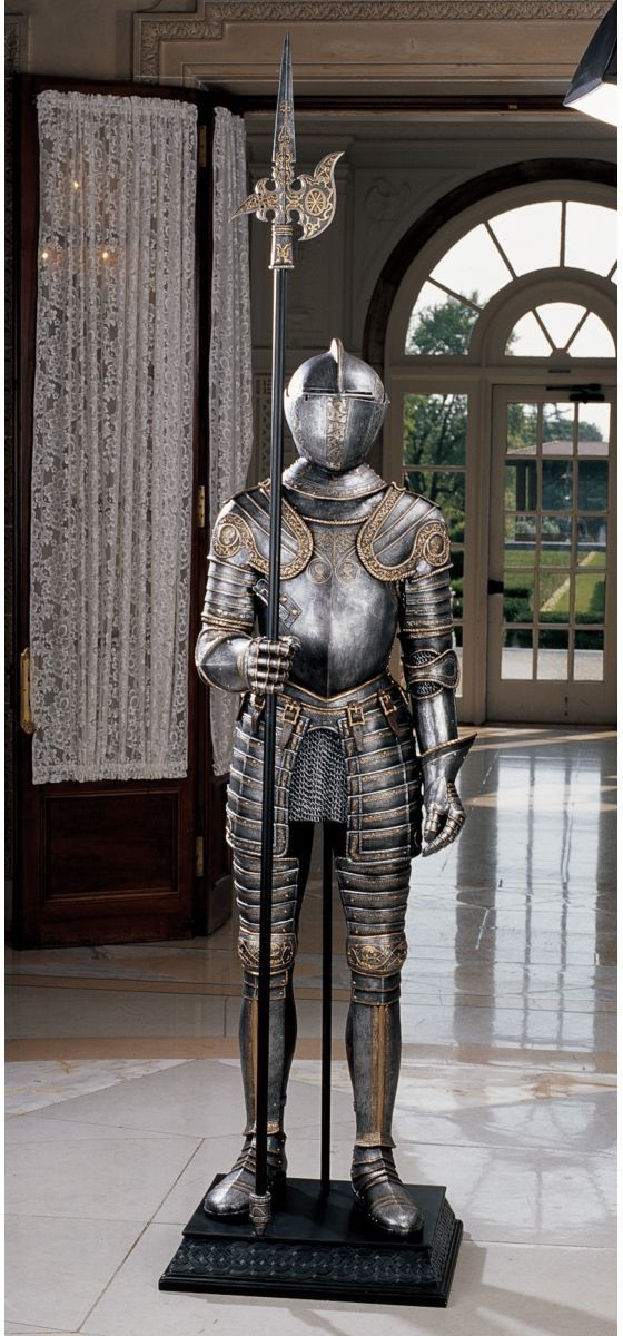 because everyone needs a suit of armor