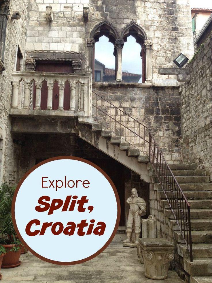 Seaside, Roman Ruins, Game of Thrones, and Outdoor Cafes –Split, Croatia