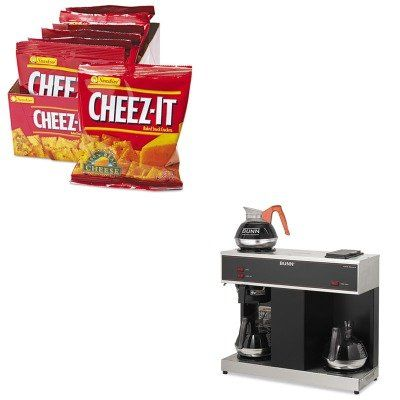 KITBUNVPSKEB12233  Value Kit  Bunn Coffee PourOMatic ThreeBurner PourOver Coffee Brewer BUNVPS and Kelloggs CheezIt Crackers KEB12233 -- Find out more about the great product at the image link.