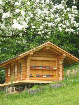 Honig aus eigener Imkerei - Gartencafé Kaltbrunn