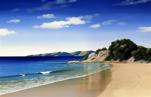 Abel Tasman Canvas Print by Linelle Stacey for Sale - New Zealand Art Prints