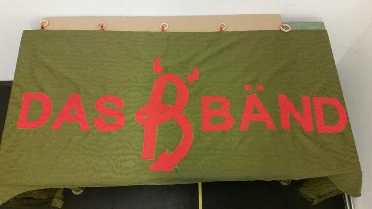 Banner für unsere Band! Made by Eva