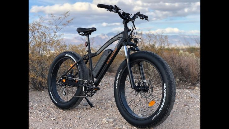 Rad Power Bikes RadRover Fat Electric Bike Review | Electric Bike Report - YouTube