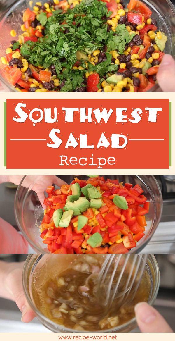 Southwest Salad Recipe   ♨http://recipe-world.net/southwest-salad-recipe/?i=p