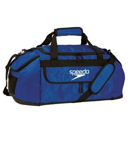 The Speedo Performance Small Pro Duffle Is Perfect Size Bag For Younger Age Group Swimmer Up To Adult That Needs Less Space Carry Their Gear
