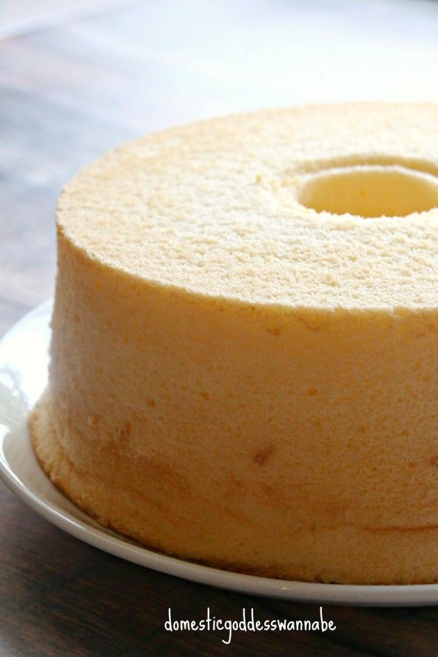 Tried& tested: mango yogurt chiffon cake. Result: fluffy, very soft, yum