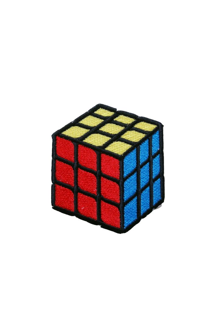 Standard Goods Patch Rubrics Cube