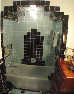 Tile Bathroom Vintage 50 best vintage tile bathrooms images on pinterest | retro