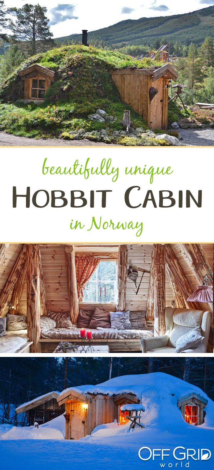 A Unique Hobbit Tiny Cabin in Norway