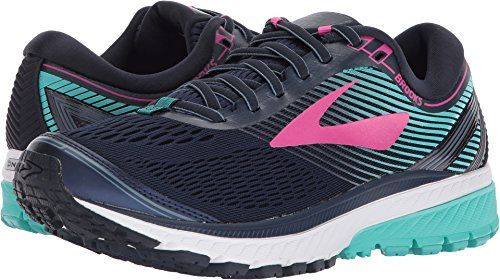 e90abb843bb31 Brooks Womens Ghost 10 NavyPinkTeal Green 7 B US    Details can be found by  clicking on the image. (This is an affiliate link)